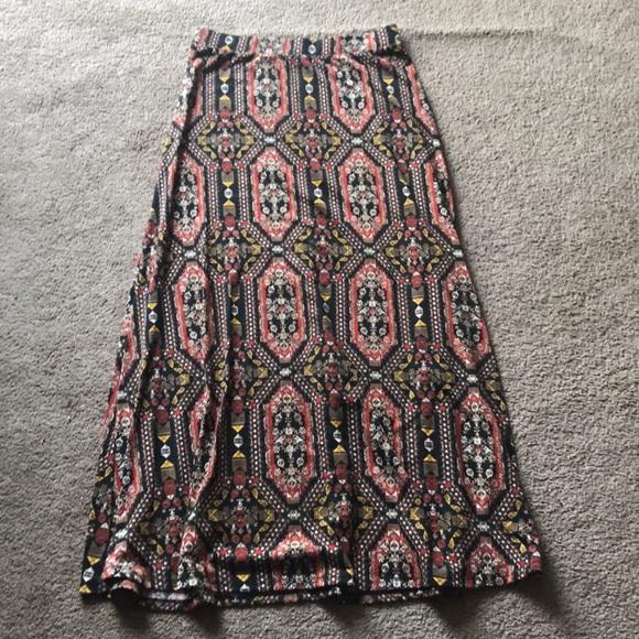 d30866400df Cato Dresses   Skirts - Cato  Tribal Maxi Skirt